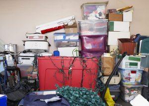 Garagem do condomínio