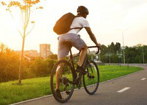 bicicleta no condomínio