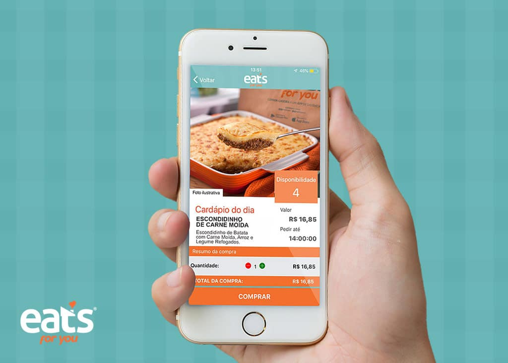 Nova parceria da Habitacional traz mais qualidade de vida aos seus clientes: o app de comida de família Eats For You!